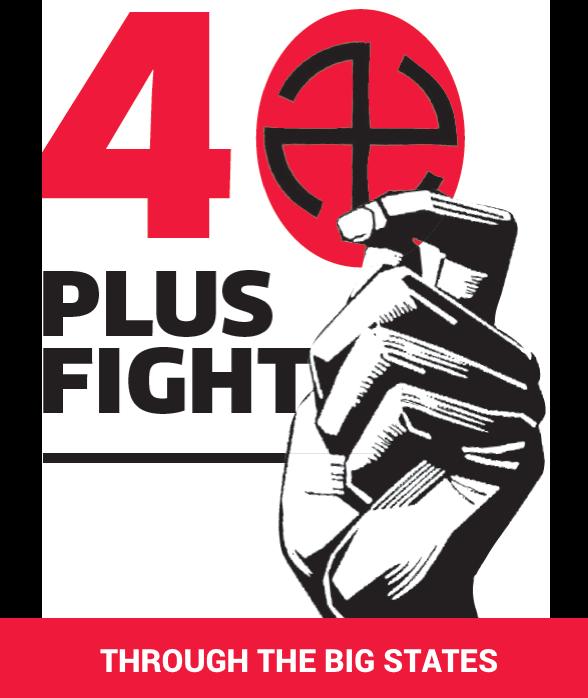40 plus Fight