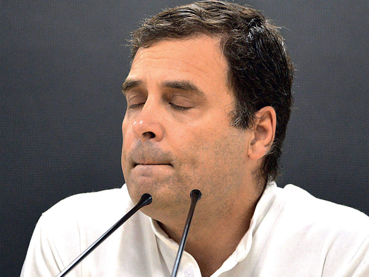 How Rahul Gandhi brought the Congress to its second existential crisis in five years