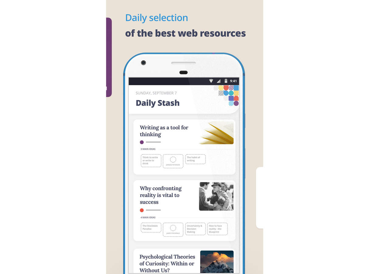 Deepstash review: A curated platform of ideas on topics like health & time management