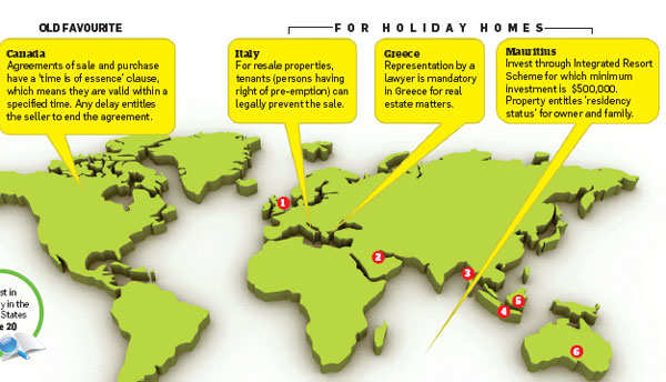 Subdued prices make buying property abroad easier - The Economic Times