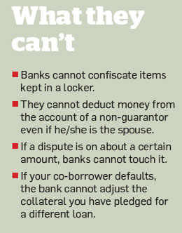 Loan defaults: Banks can take your cash from account - The