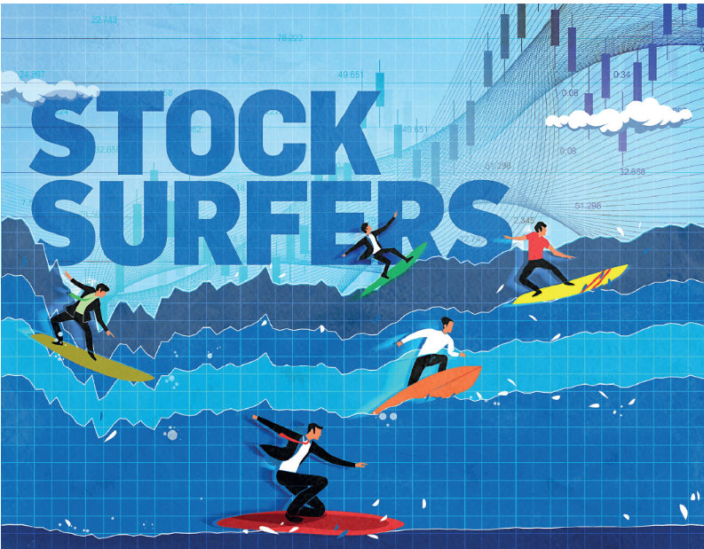 New retail stock surfers' risky bets have paid off. But are they really safe?