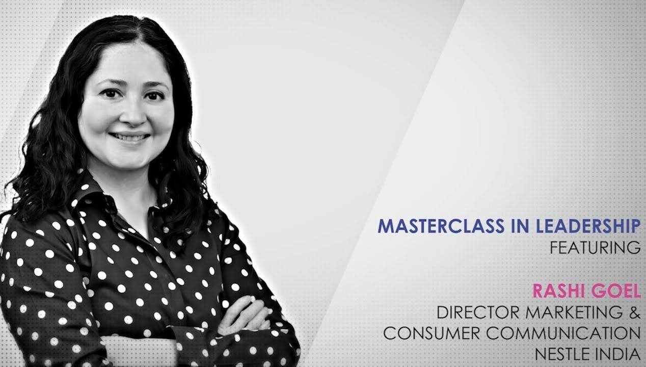 ETPWLA 2020: Leadership Masterclass with Rashi Goel, Nestlé India