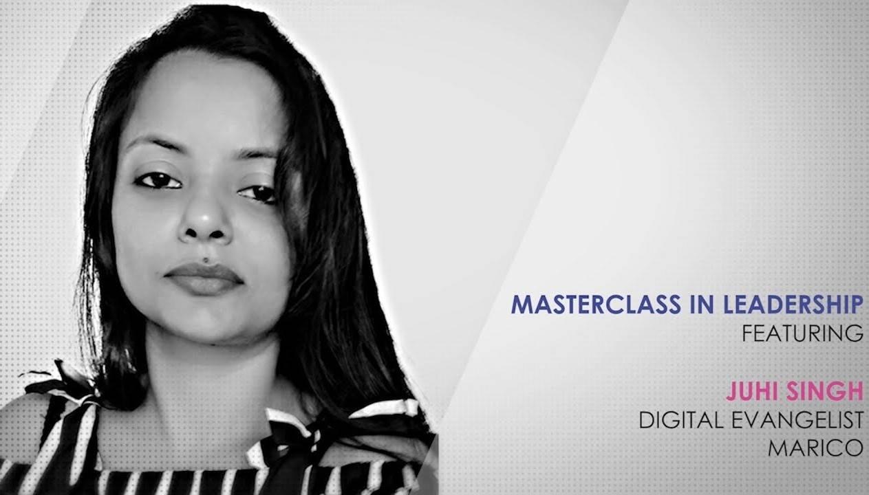 ETPWLA 2020: Leadership Masterclass with Juhi Singh. Marico
