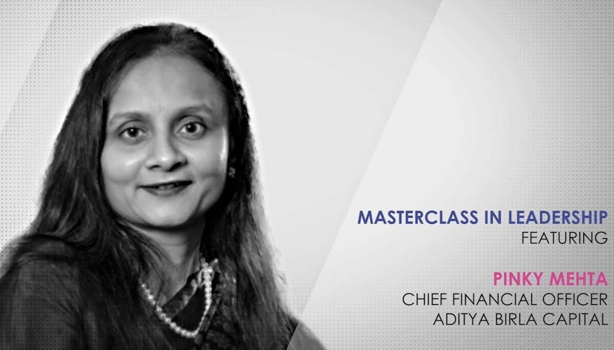ETPWLA 2020: Leadership Masterclass with Pinky Mehta, Chief Financial Officer, Aditya Birla Capital