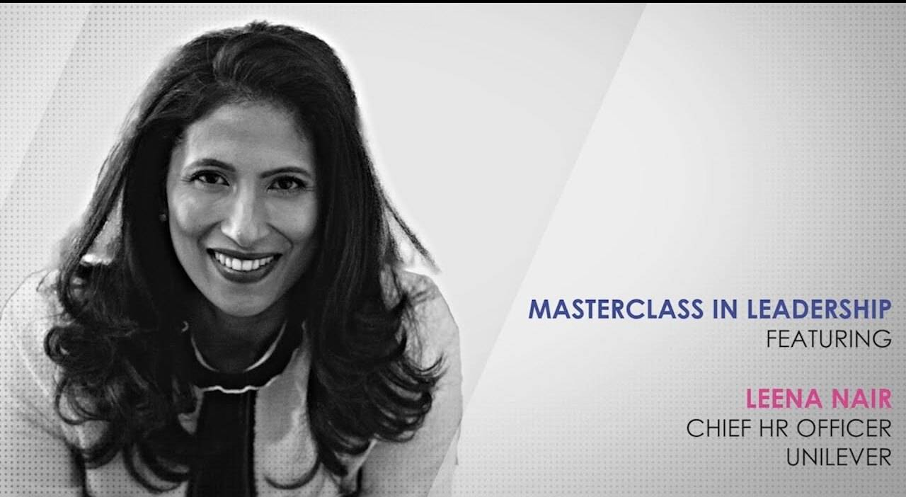 ETPWLA 2020: Leadership Masterclass with Leena Nair, Unilever
