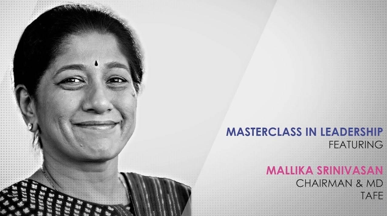 ETPWLA 2020: Leadership Masterclass with Mallika Srinivasan, TAFE