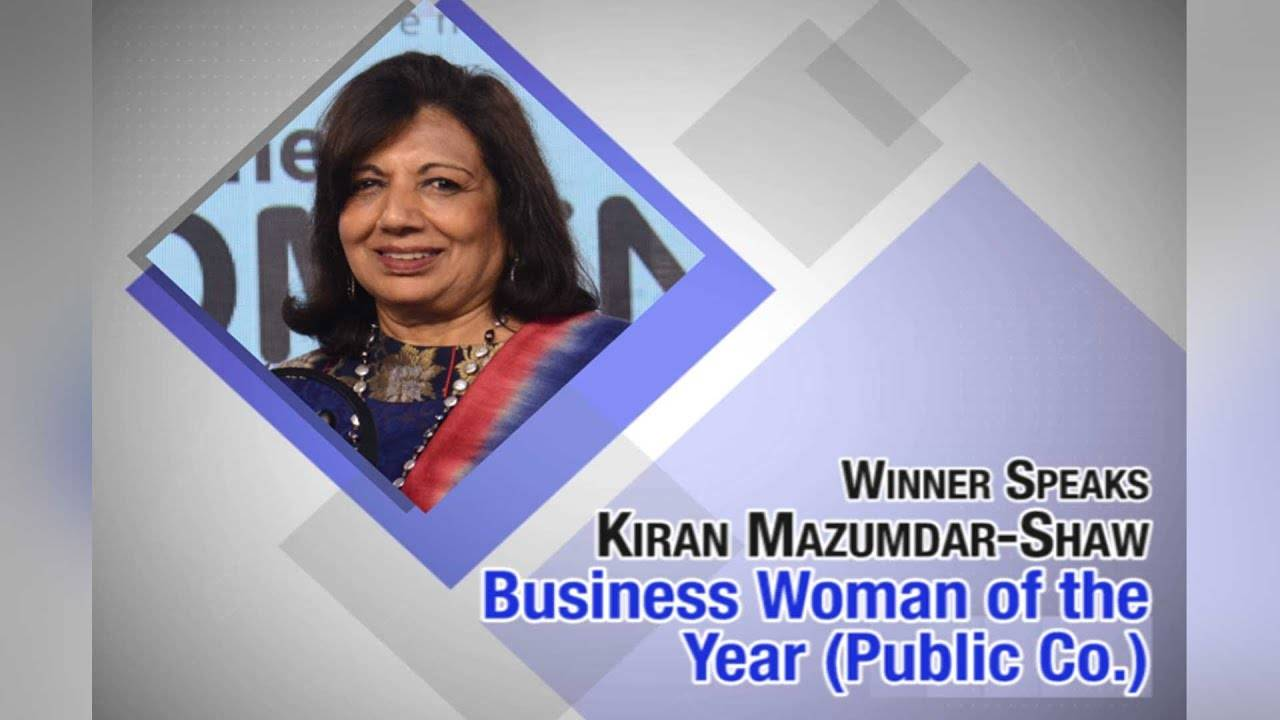 Leadership is about taking risks,leading from the front:Kiran Mazumdar-Shaw   ETPWLA