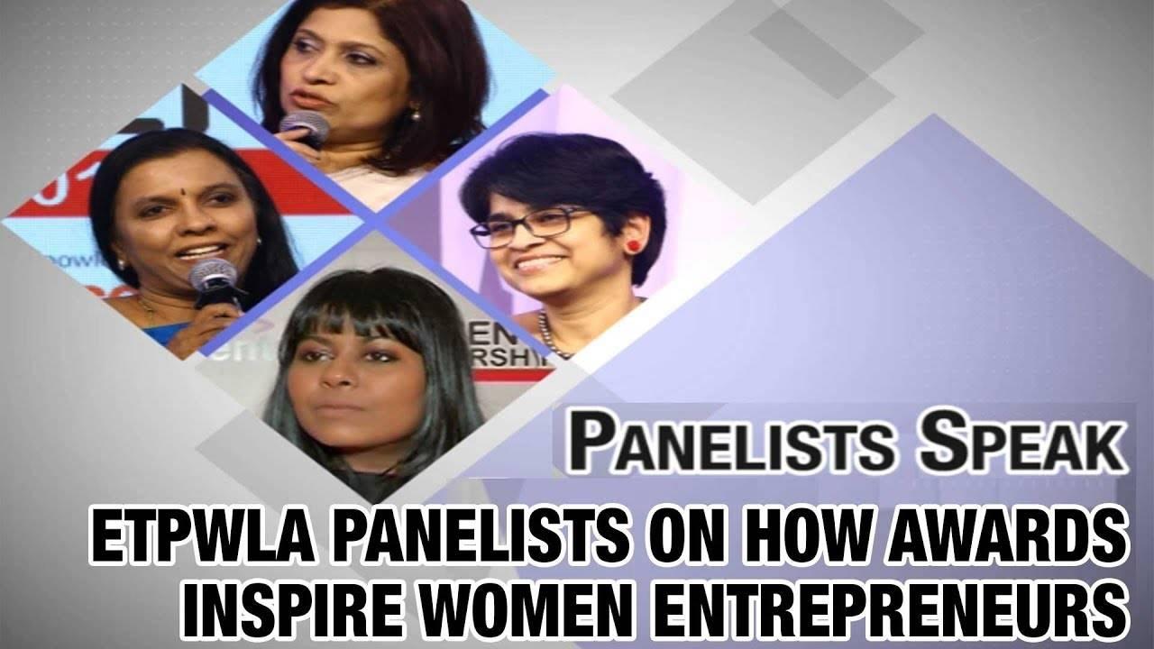 ETPWLA Panelists on how awards inspire women entrepreneurs