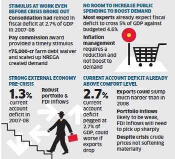 Recession 2011: 2011 could be worse for India as US recession looms large