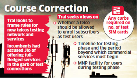 4G: Trai sets ball rolling for framing rules carriers must follow for  testing networks - The Economic Times