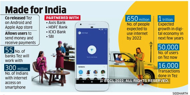 Tez App Google Payment App Tez Will Make Payments As Simple As Cash Says Caesar Sengupta