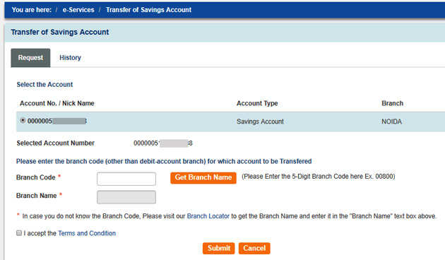 How To Transfer Your Sbi Account Another Branch Online