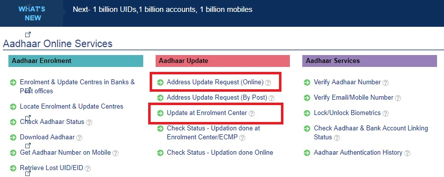Aadhaar Address Update How To Change Your Address On Aadhaar Card Online And Offline