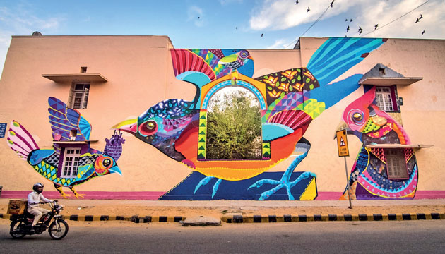 Wall Art In Cities How City Walls Are Becoming The Artist S Canvas The Economic Times