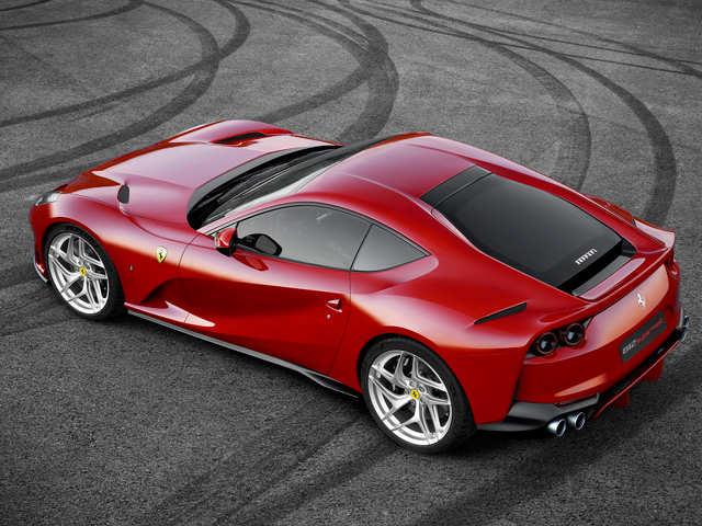 Ferrari 812 Superfast Ferrari Unveils Its Fastest