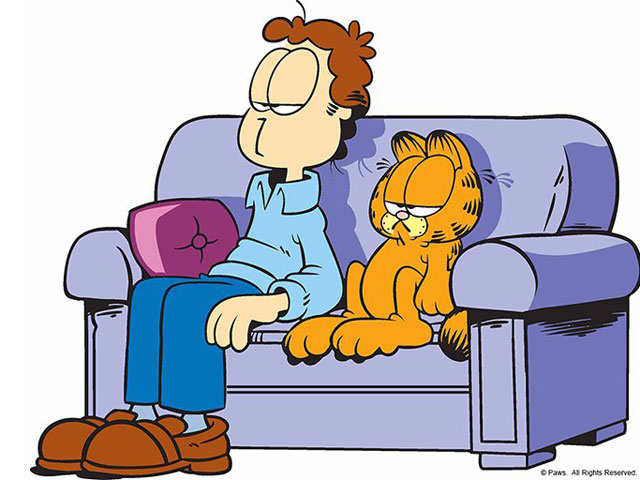 Garfield turns 40: Lazy, grouchy cat is worth $800 mn, and founder Jim Davis loves it!