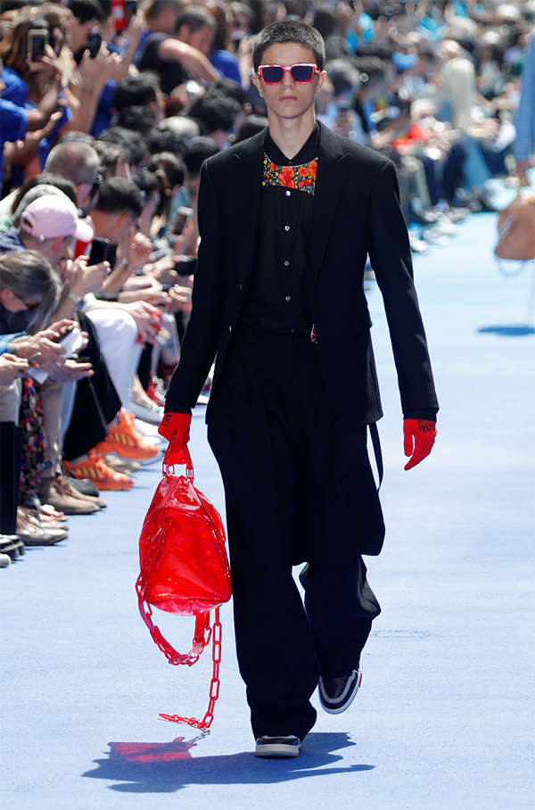 36c5fa0afd Louis Vuitton's next generation steps up to Kanye's latest tune; is ...