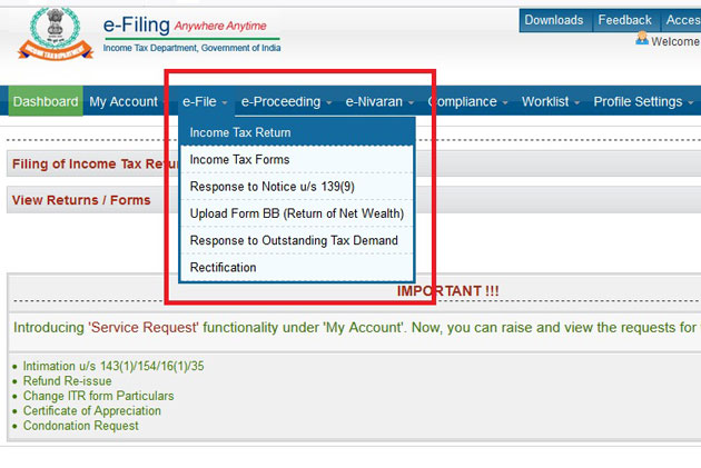ITR filing process: How to prepare and file ITR completely online