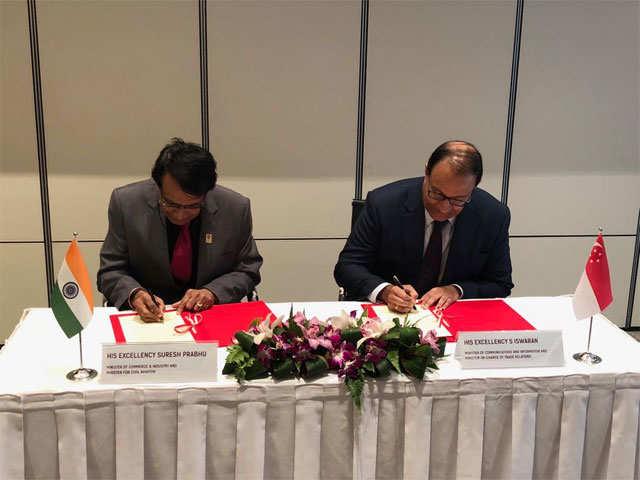 Comprehensive Economic Cooperation Agreement India Singapore