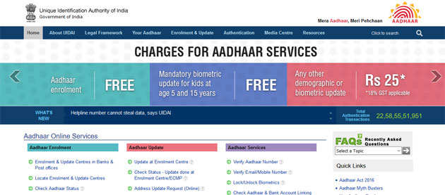 UIDAI-Website