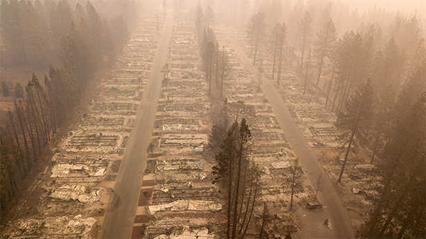 California dreaming: Stuck indoors due to the wildfire, can