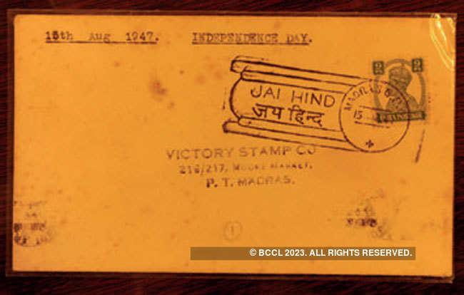 vintage postmarks: Retired entrepreneur collects rare