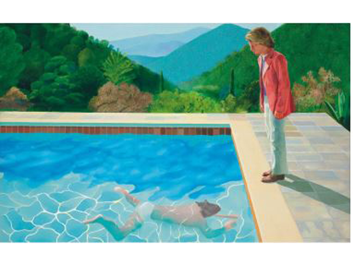 portrait of an artist: David Hockney's painting, which was auctioned for  $90.3 mn, was initially sold for $18,000 - The Economic Times
