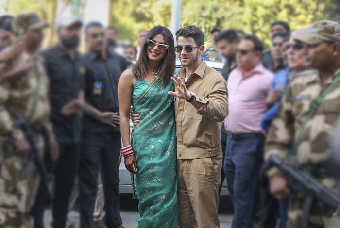 Priyanka-Nick head to Delhi for their reception
