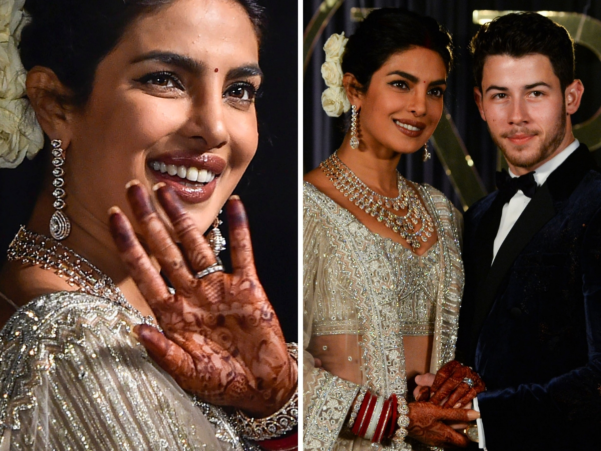 Platinum Wedding Band Priyanka Chopra S Platinum Wedding Band