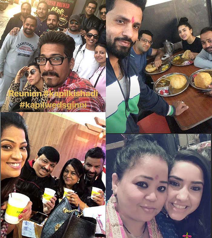 Jagran, party, food: Inside Kapil Sharma's pre-wedding celebration