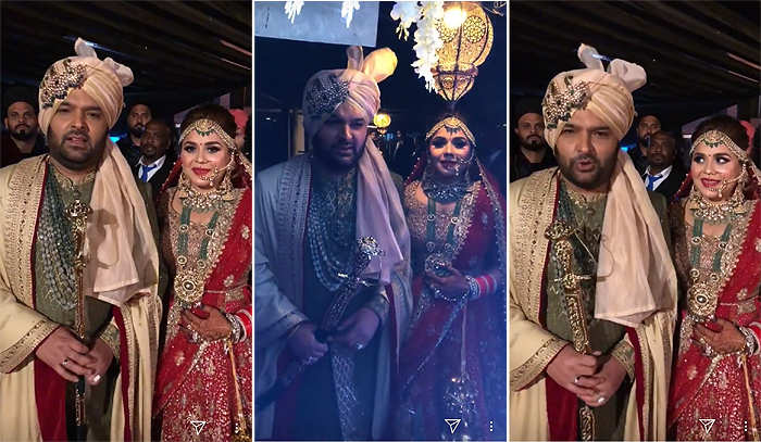 It's official! Kapil Sharma & Ginni Chatrath tie the knot in Jalandhar
