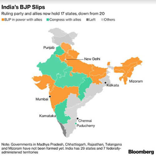 2019 Elections: Modi\'s BJP bets on new conquests in 2019 ...