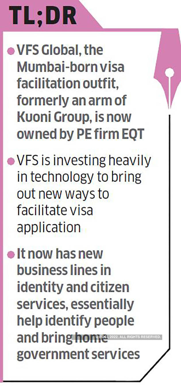 Here S How Zubin Karkaria Is Taking The 500 Million Firm Vfs Global On A New Tech Adventure The Economic Times