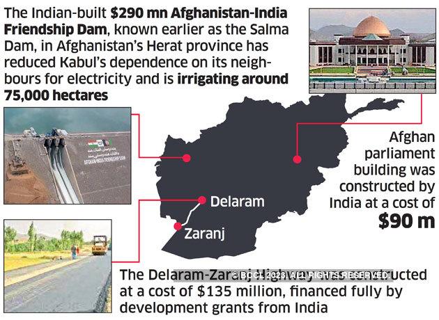 Donald Trump: Miffed govt lists $3 billion projects as Donald Trump mocks India's  Afghanistan aid