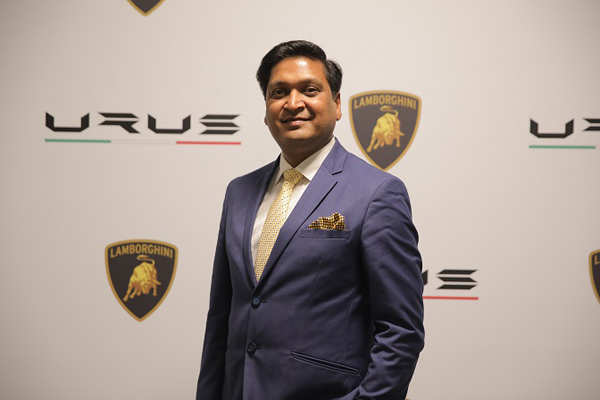 Sharad Agarwal, Head, Lamborghini India