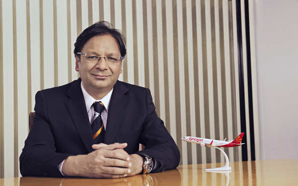 Ajay Singh, Chairman and MD, SpiceJet