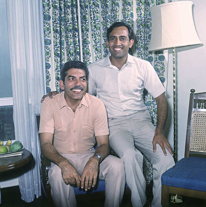Ravish Malhotra and Rakesh Sharma knew each other before travelling to the Soviet Union.
