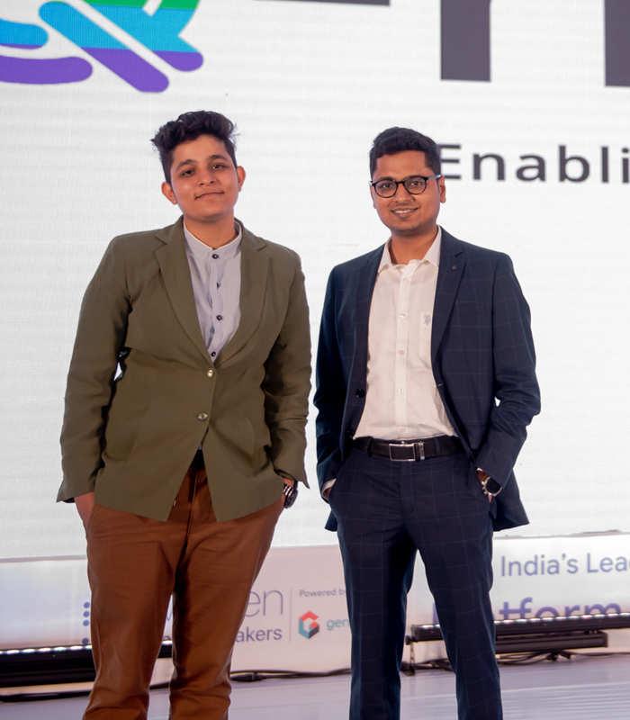 Ankita Mehra, head, Q-rious (left) with Naren Krishna, CEO, Equiv.in
