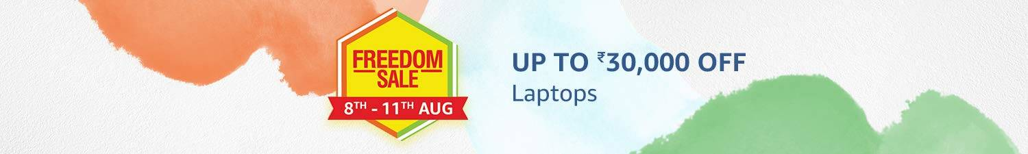 Up to Rs. 30,000 OFF on Laptops