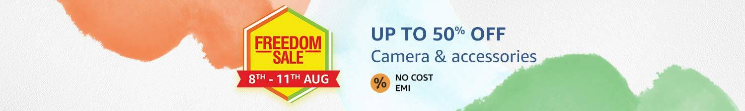 Up to 50% OFF on Camera & Accessories