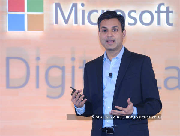 Microsoft was represented by the company's India boss, Anant Maheshwari at the AGM