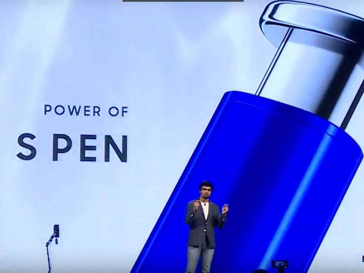 Vivek Joshua said that both devices with come with an S pen. 