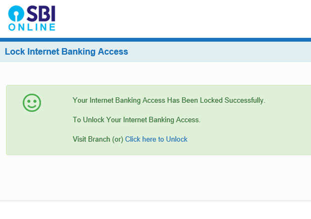 SBI Net banking fraud: Now you can lock your SBI Net banking access to  prevent frauds