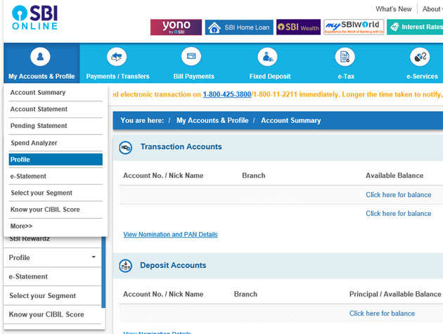 Sbi Net Banking Password Reset How To Reset Sbi Net Banking