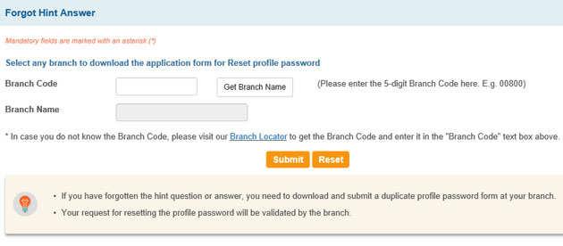 SBI net banking password reset: How to reset SBI net banking