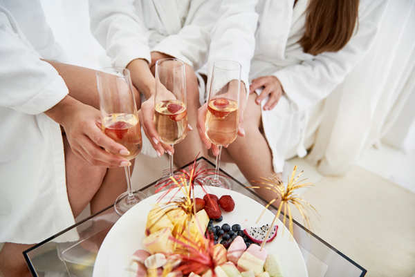 The average bachelor or bachelorette party attendee spends $537, including the cost of travel, accommodations, and gifts. 