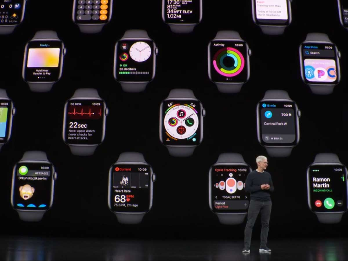 Apple Watch Series 5 (GPS + Cellular) starts at $499.