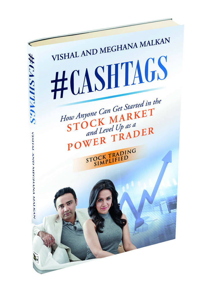 The book '#CASHTAGS' authored by Malkans can help anyone get started in the stock markets.