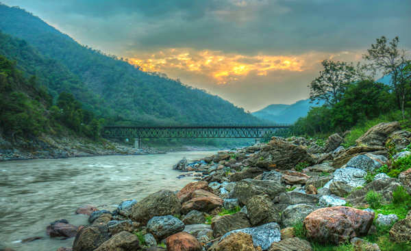 Rishikesh was among the fastest growing destinations in the first half of 2019.